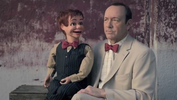 Short mit Kevin Spacey – The Ventriloquist