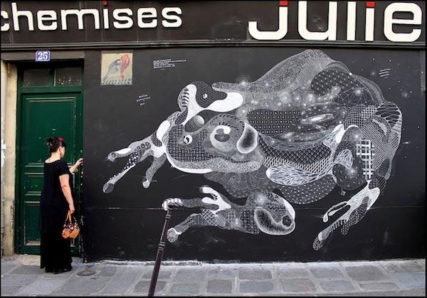 Streetart: Tierkreidezeichen
