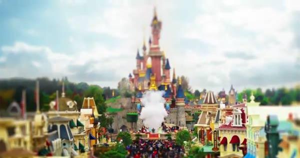Tilt-Shift Disneyland