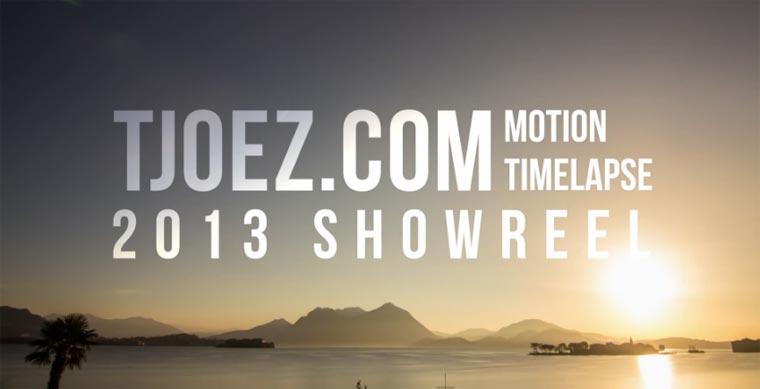 Timelapse-Showreel: Tjoez.com