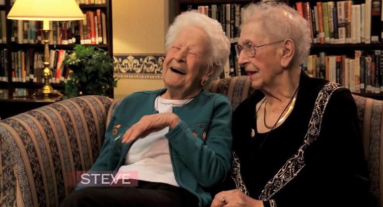 Zwei 100-Jährige über aktuelle Popkultur