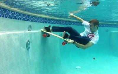 unterwasserskateboard