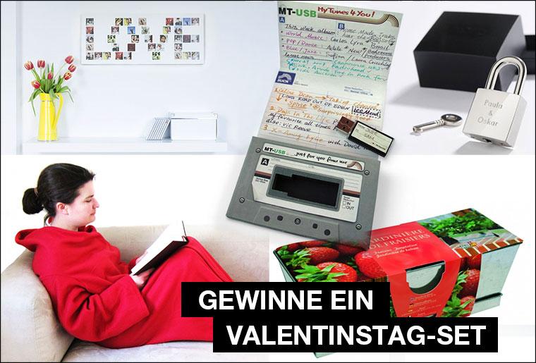 Gewinnt ein Valentinstag-Geschenkset