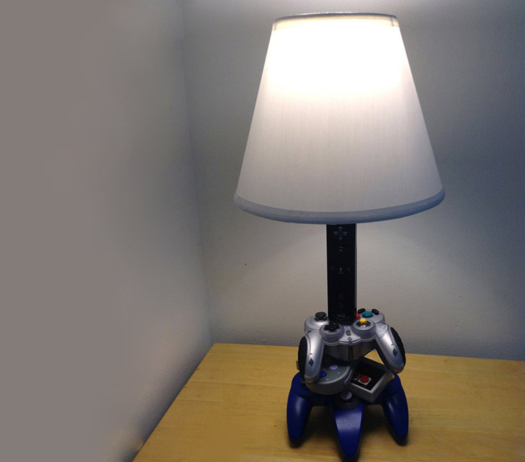 Lampen aus Videospielkonsolen