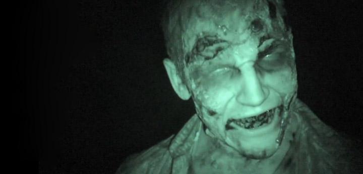The Walking Dead: Promo-Zombie im Kinosaal