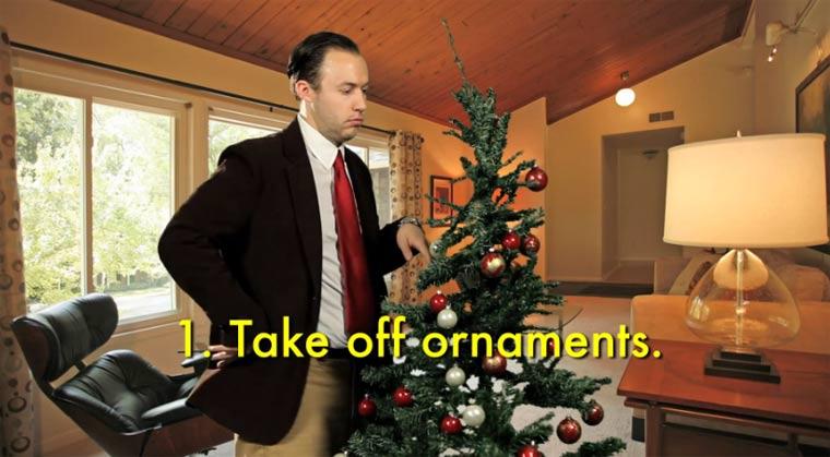 Wie man seinen Weihnachtsbaum entsorgt