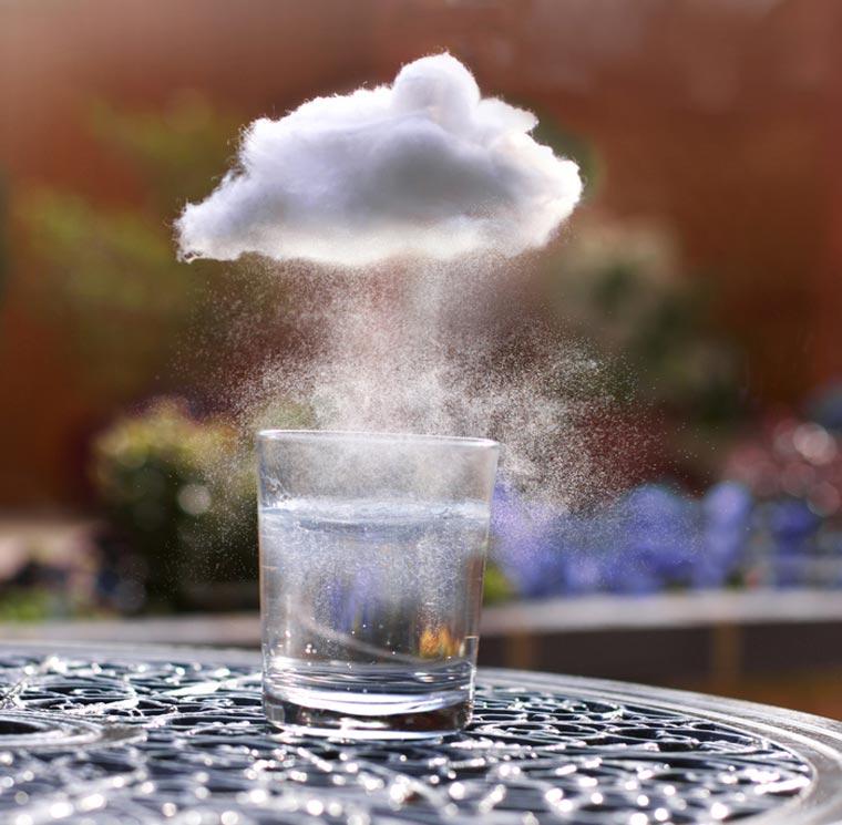 Magische Miniatur-Wolken