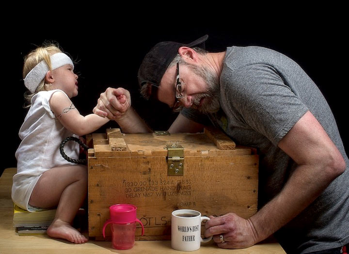 Fun-Fotografie: World's Best Father
