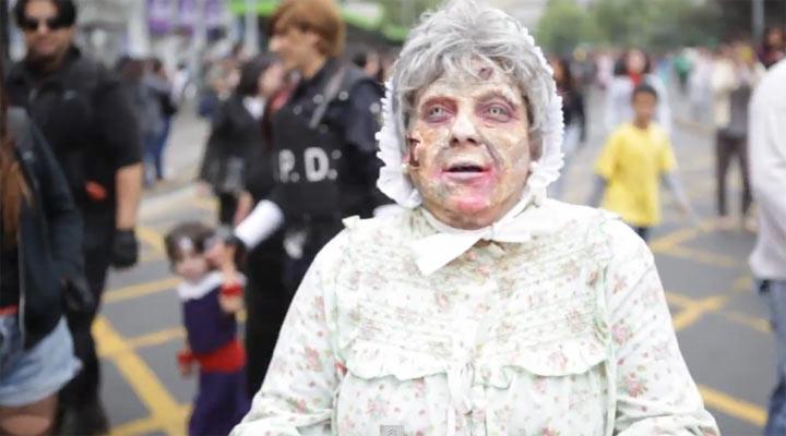 weltgrößter Zombie Walk