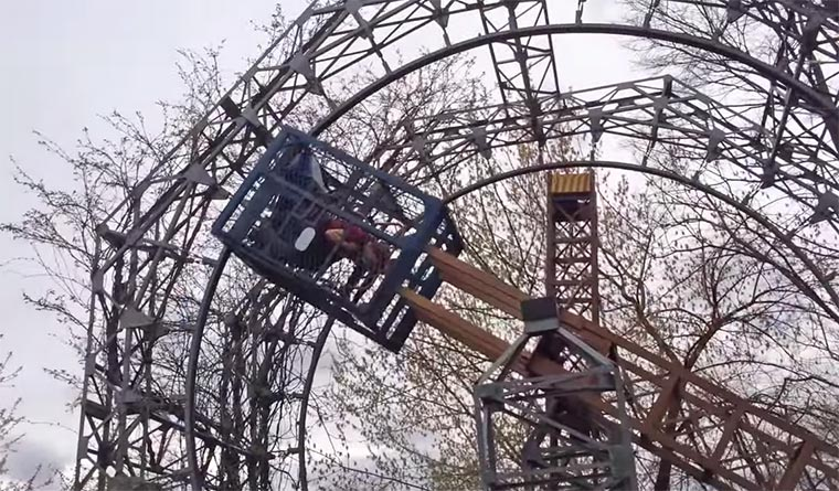 Vergnügungspark-Spielplatz