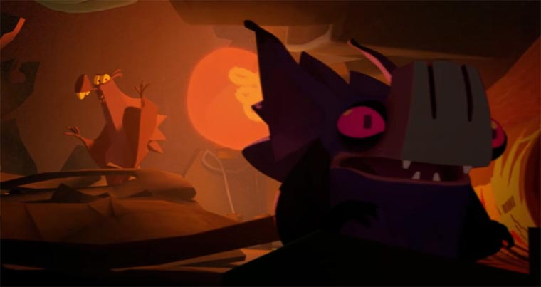Animated Short: BATZ BATZ