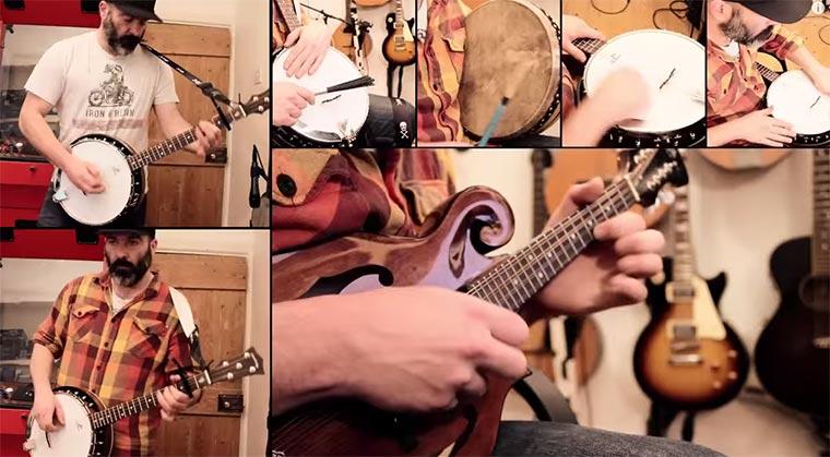 Banjo Cover von Enter Sandman Banjo-enter-sandman