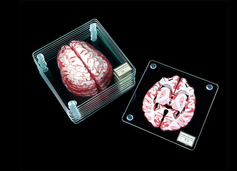 Gehirn-Untersetzer Brain-Coasters_02