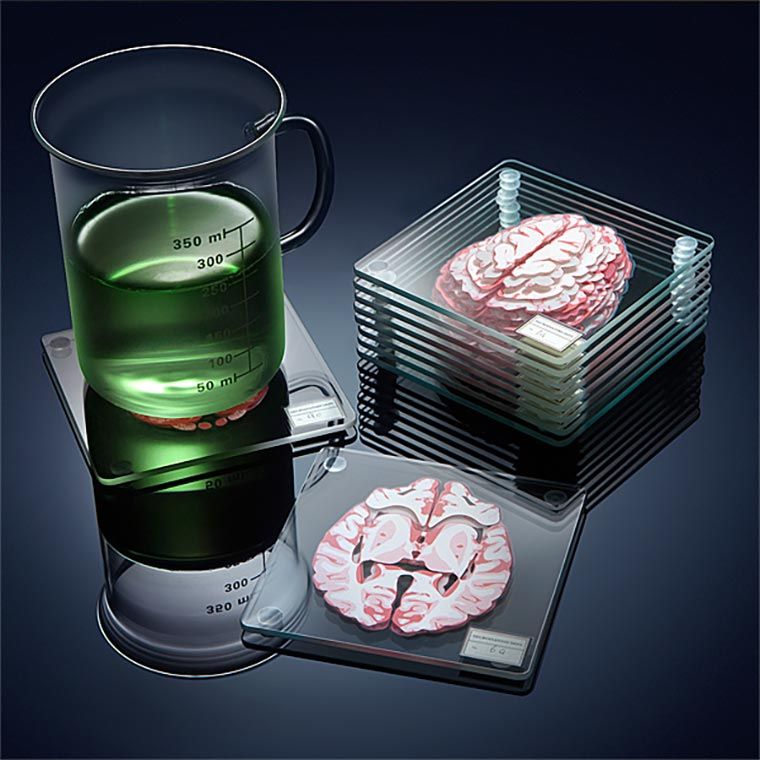Gehirn-Untersetzer Brain-Coasters_03