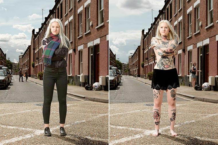 Tattoos vs. angezogen Covered_01
