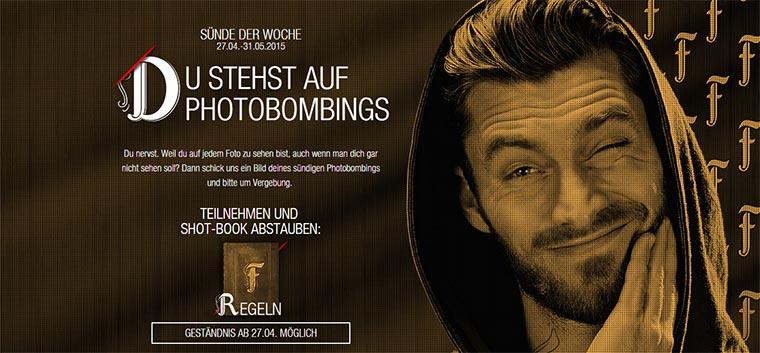 10 Photobombing-Sünden Frangelico_photobombing