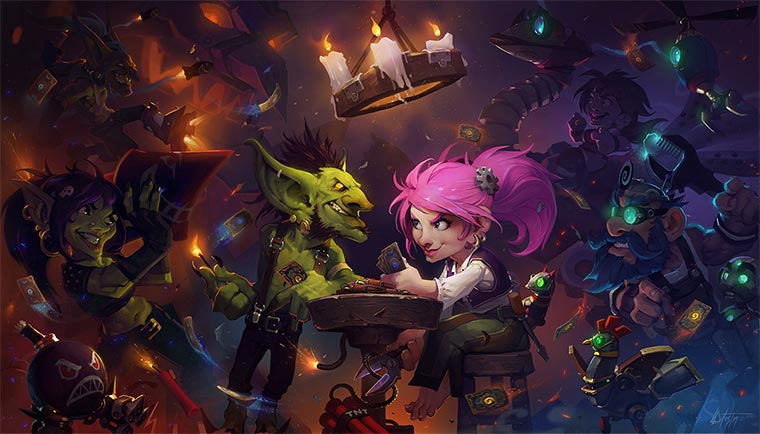 Digital Paintings: Hearthstone Hearthstone-Illustrations_01