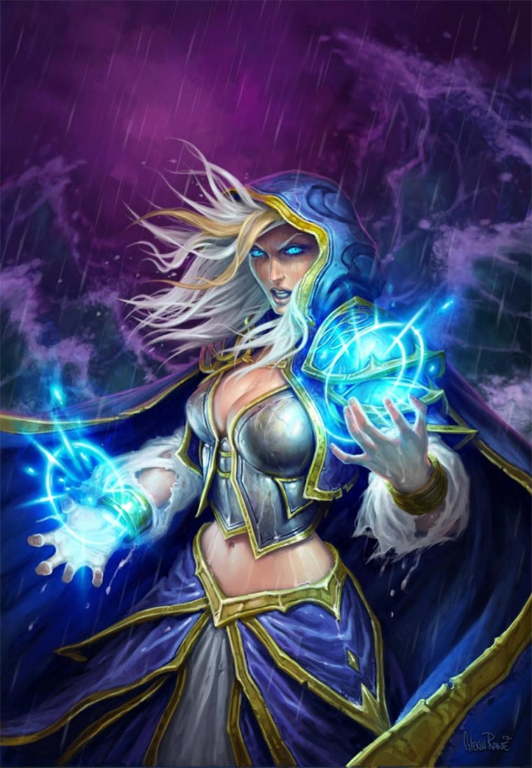 Digital Paintings: Hearthstone Hearthstone-Illustrations_04