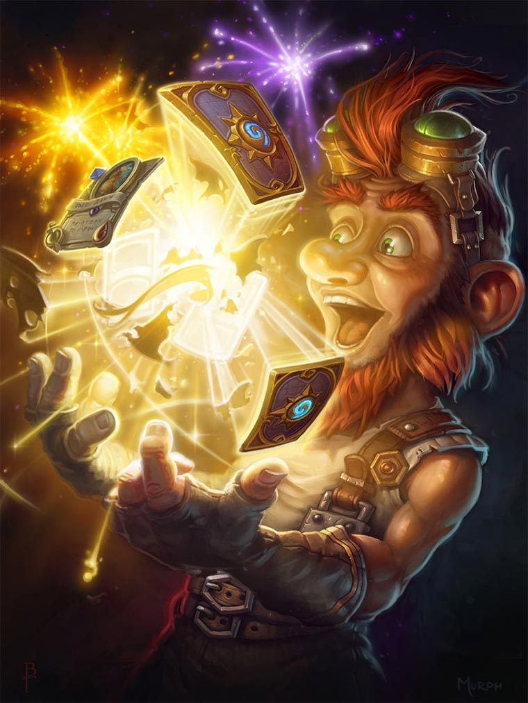 Digital Paintings: Hearthstone Hearthstone-Illustrations_11
