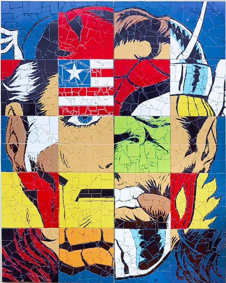 Superhelden-Mosaike Jason_Dussault_04
