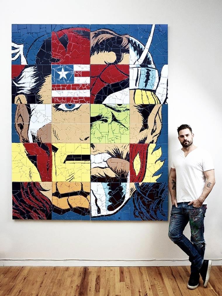 Superhelden-Mosaike Jason_Dussault_08