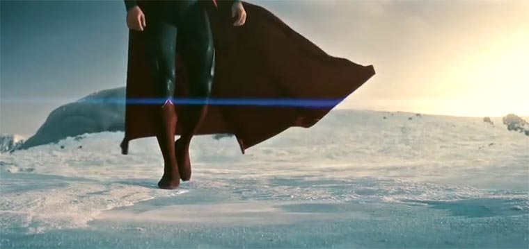 Der letzte Superman-Film in Farbe Man-of-steel-in-color