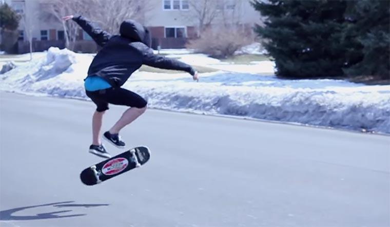 Nick Mullins: der blinde Skateboarder Nick-Mullins