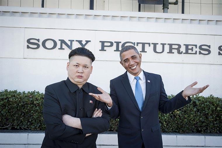 Wenn ein Obama-Imitator auf einen Kim Jong Un-Imitator trifft