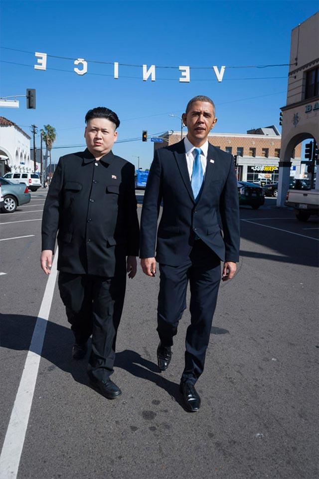 Wenn ein Obama-Imitator auf einen Kim Jong Un-Imitator trifft Obama-kim-jong-un_03