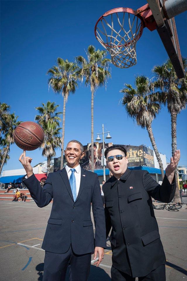 Wenn ein Obama-Imitator auf einen Kim Jong Un-Imitator trifft Obama-kim-jong-un_05