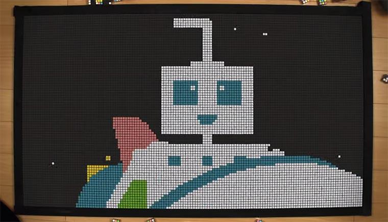 Rubik's Cube Stopmotion Rubikscubeanimation