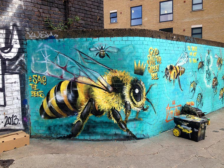 Bienen Street Art Save-The-Bees_06
