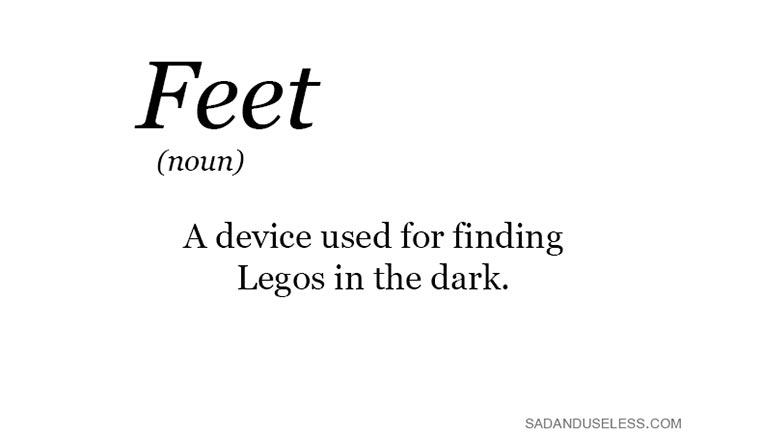 Füße - Apparat um LEGOs im Dunkeln zu finden The-Real-Meaning_01