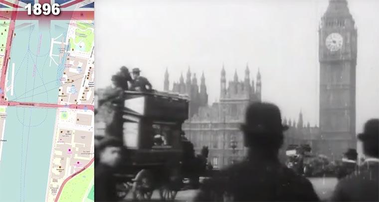 Die ältesten Aufnahmen von London oldest-london