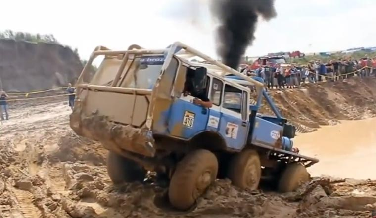 Truck Trial Compilation truck-trial