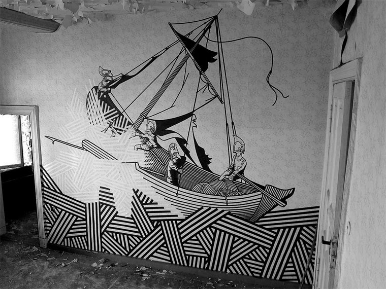 Tape Art: BUFF DISS BUFF-DISS_03