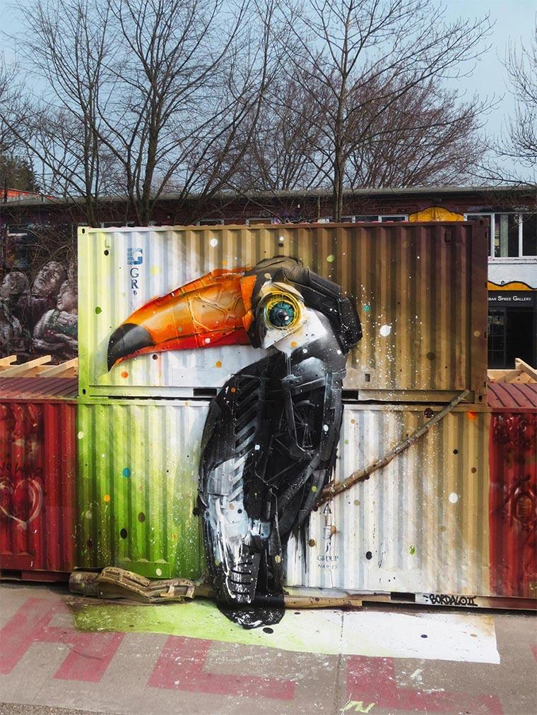 3D-Murals aus bemaltem Müll Bordalo-II_05