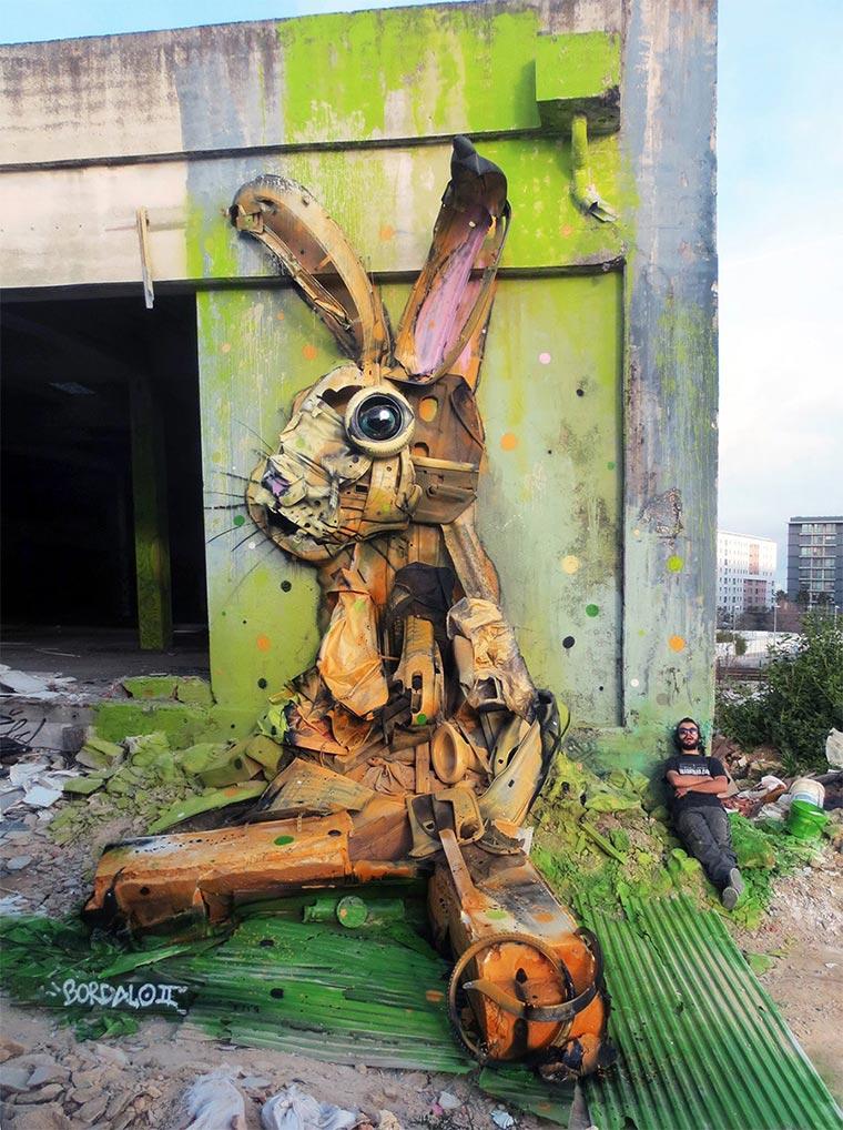 3D-Murals aus bemaltem Müll Bordalo-II_06