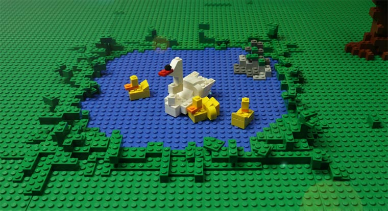 LEGO-Stopmotion: Adventure in the City LEGO-stopmotion