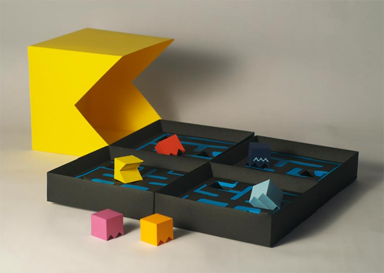 Pac-Man als Brettspiel
