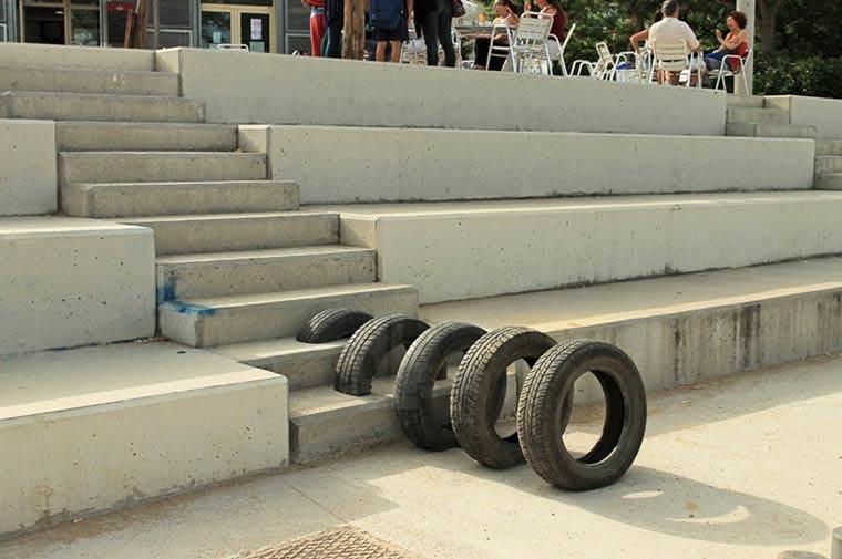 Street Art mit Reifen Pneumatic_06
