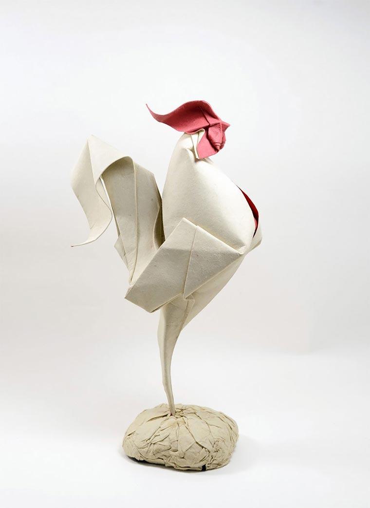 Wasser-gefaltene Tier-Origami Quyet_07
