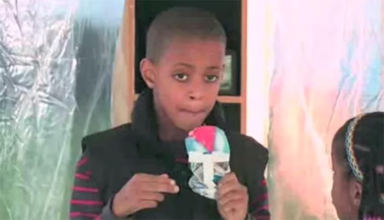 Eis von einem Fremden annehmen? Stranger-Ice-Cream