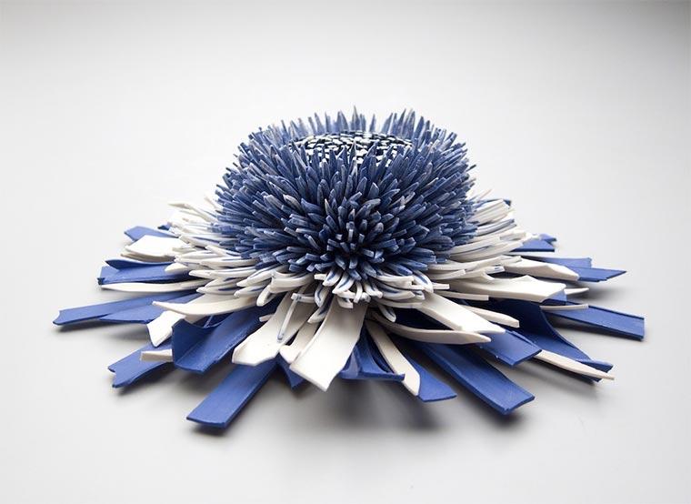 Blüten aus Keramik-Bruchstücken Zemer-Peled_03