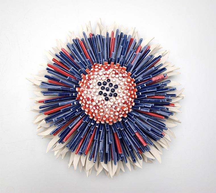 Blüten aus Keramik-Bruchstücken Zemer-Peled_04