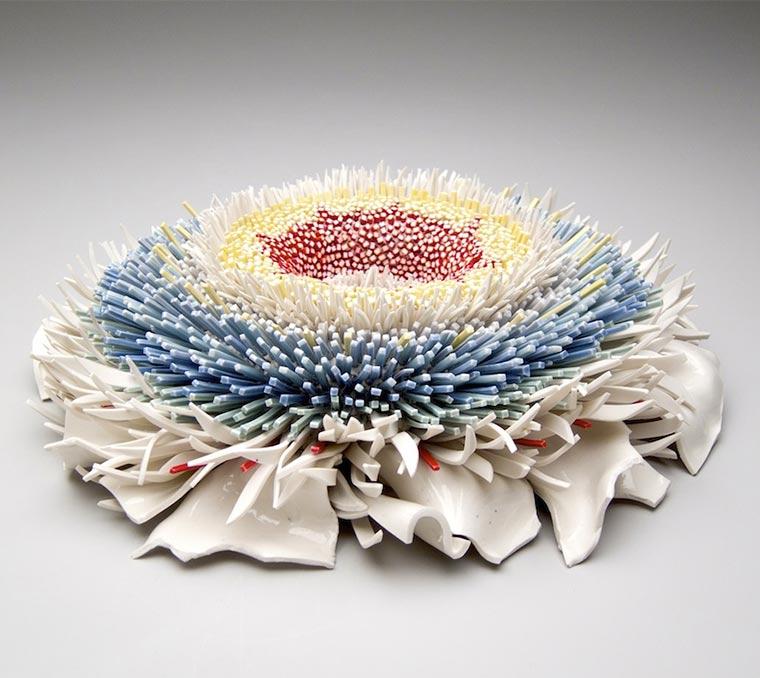 Blüten aus Keramik-Bruchstücken Zemer-Peled_06