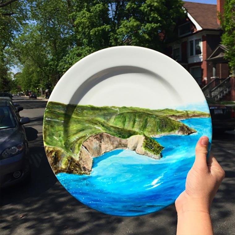 Kreative Teller-Malereien crazyplatelady_08