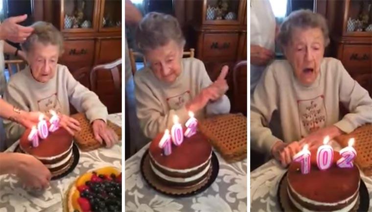 Wenn eine 102-Jährige die Kerzen ausbläst oma-102