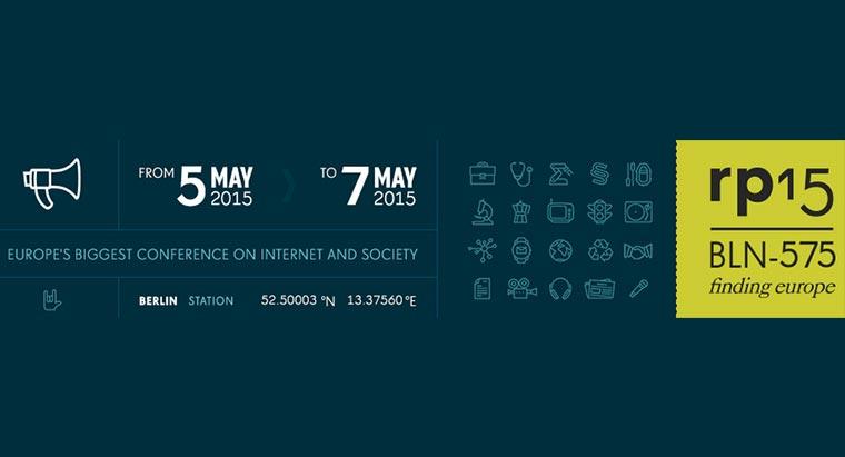 Auf dem Weg zur re:publica 2015