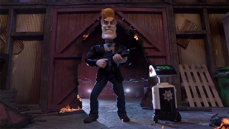 Chuck Steel : Raging Balls of Steel Justice Chuck-Steel